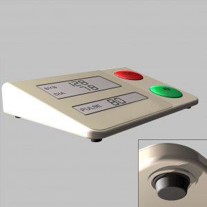 Butée adhésive tensiomètre médical